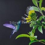 HachidoriHuile sur bois22,5 x 30 cm