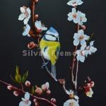 SakuraHuile sur bois22,5 x 30 cm