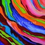 Rainbow Bark XVIHuile sur bois20 x 20 cm