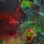 Ruben in the emerald forestHuile & Acrylique sur toile100 x 50 cm